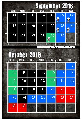 SW Calendar